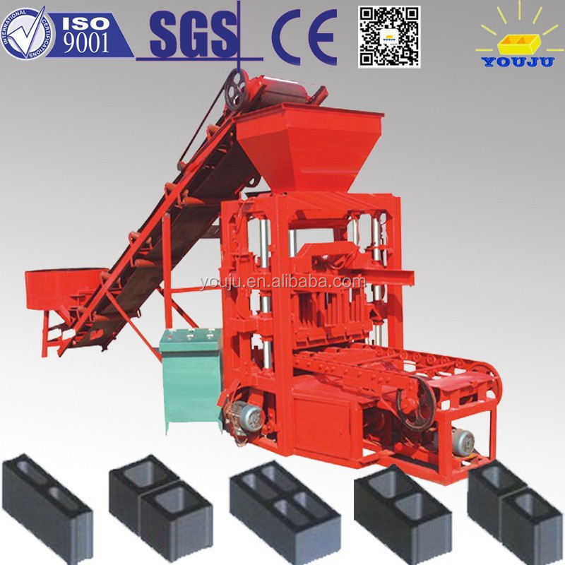 QTJ4-26 concrete brick machine price block making machine suppliers in south africa