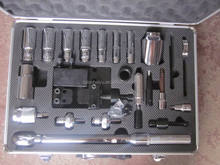 25pcs common rail tool kit and Aluminm Alloy Tool,disassembly and assembly injector tool