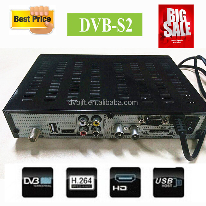 Digital DVB-S2 HD MPEG4 /H.264 satellite TV receiver 2015 factory sale