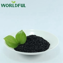 Good price black powder super potassium humate shiny flake agrochemical fertilizer