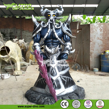 Life Size FRP Character Sculpture