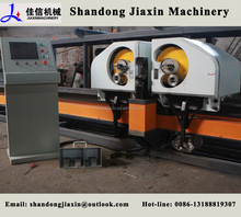 Reinforcement steel rebar bending machine center, double bending head