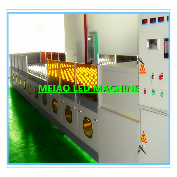Energy saving lamp aging test line
