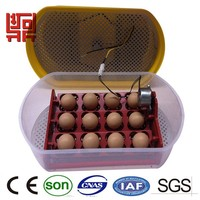 30 days replacement automatic chicken duck quail Mini egg incubator for sale