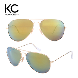 Best Sell Mirrored unisex Custom UV Logo 3025 Wholesale Sunglasses