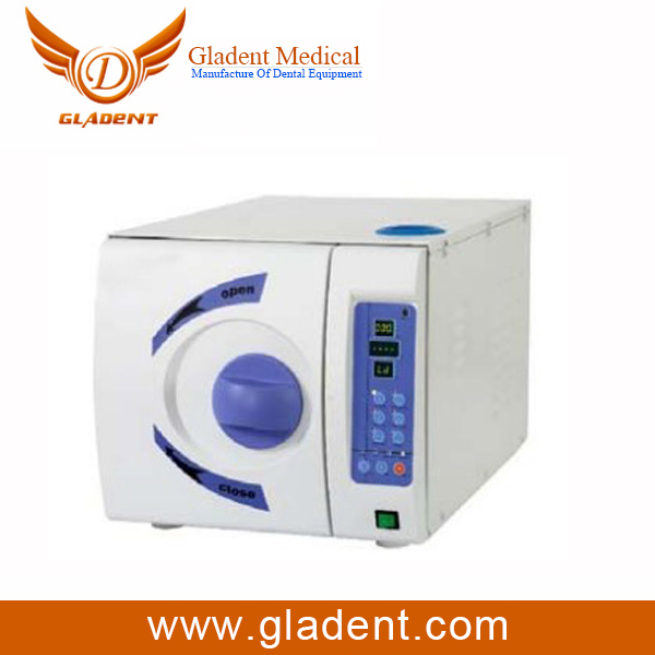 1 years quality warrantry LCD display class B autoclave dental autoclave 8l