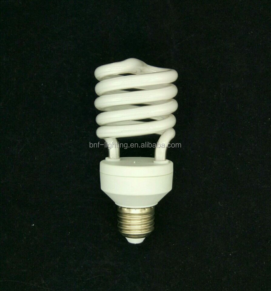23 watt cfl with 23w 40w spiral energy saving lamp
