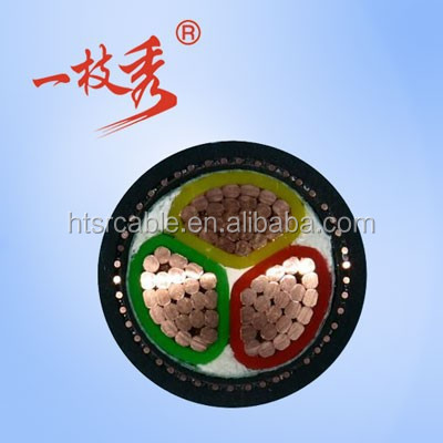 XLPE insualted metal braided PVC jacketed low voltage marine VFE power cable