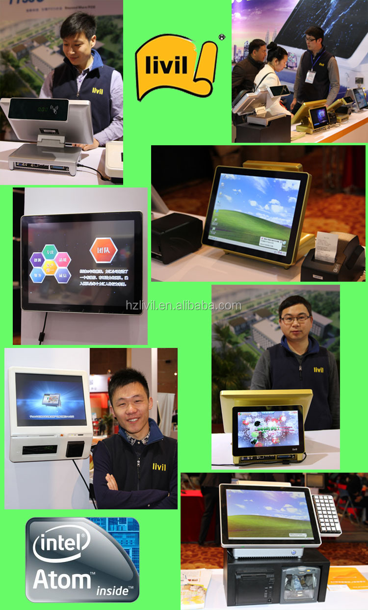 15 inch retail touch screen monitor