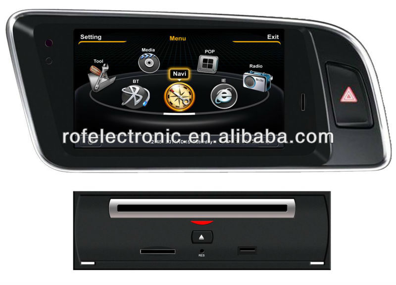 2din car gps navigation for Audi Q5