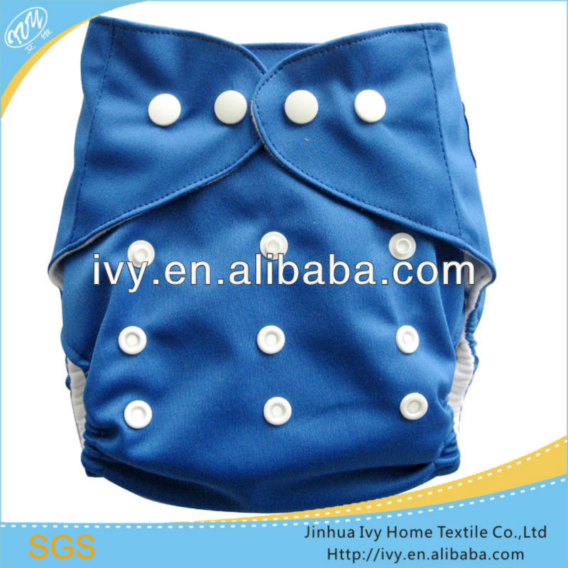 Breathable sky blue cloth baby diapers nappies /Reusable baby cloth diapers wholesale