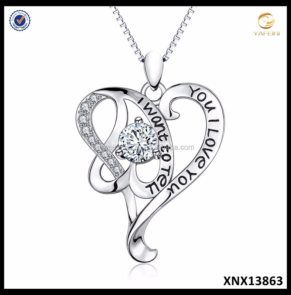 mother's day collection 925 sterling silver i love you heart