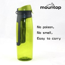 BPA free private labeled sports water bottles/ plastic wholesale travel sport bottle caps brand name