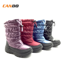 Hot Selling Kids Nude Fashion Snow Boots