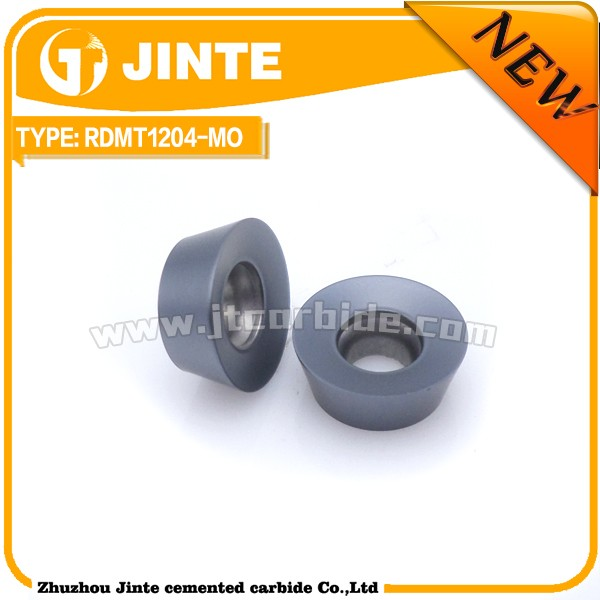 Cemented Carbide Indexable P30 ISO Grade Milling Insert RDMT1204