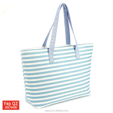 China suppliers online shop new fashion reusable canvas tote beach bag