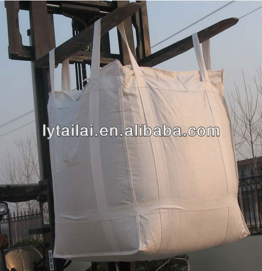 100% new cheap pp jumbo bag ton bag for 1000kg with UV