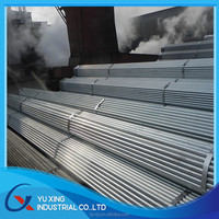 hot dip galvanized water line pipe steel tube
