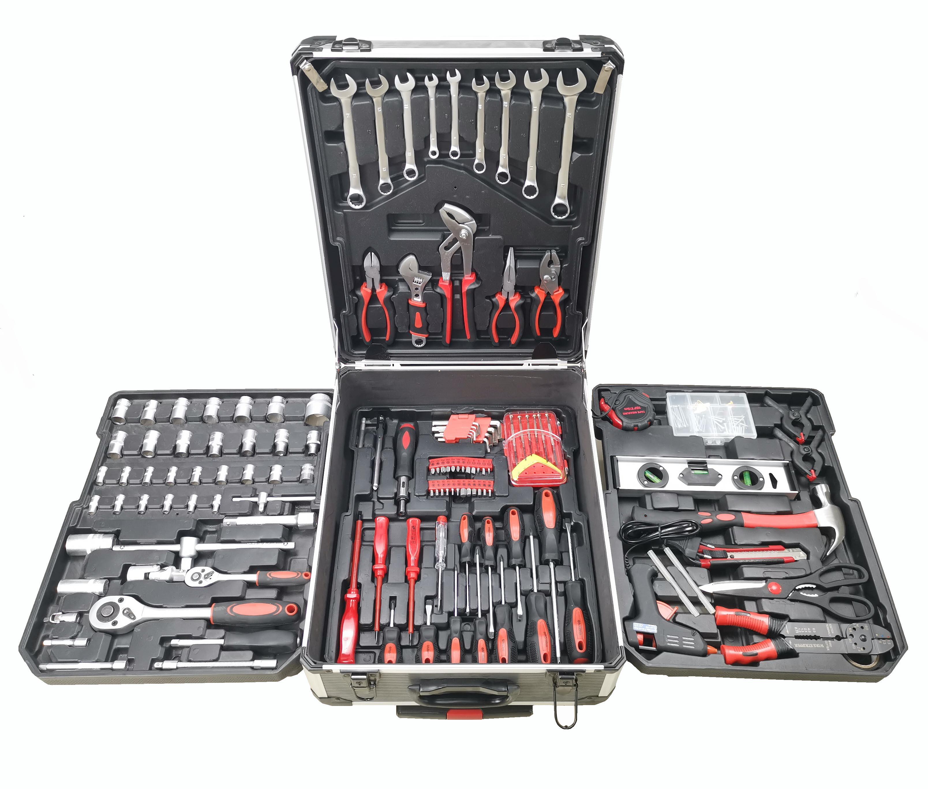 Tool Kit Профессиональный 186 шт Набор инструментов механик велосипед набор инструментов для продажи магазин фабрики дома