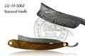 Damascus Steel Straight Razor Rosewood Handle DD-14-3068