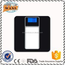 200KG Electronic Tempered Glass Platform Bathroom Scale