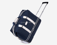 Custom Wholesale cheap trolley travel Bag sport bag trolley duffel bag