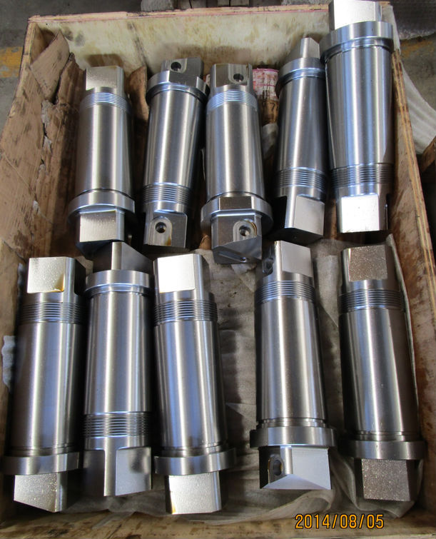 Carbon steel machining shaft part