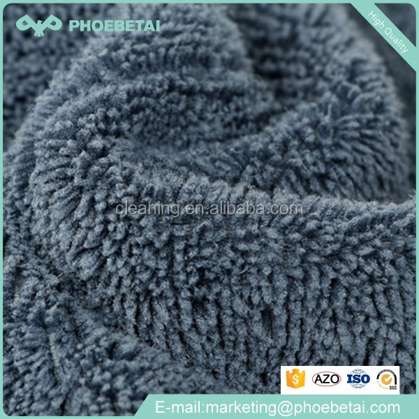 Microfibre drying towel clean wipes micro fiber cleaning cloth in black