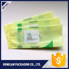 Newest customized wet wipe tissues plastic bag directly sale