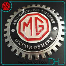 Wholesale MG Brands car club badge metal car emblem cover for sale