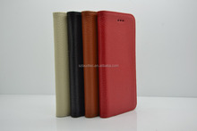 For iPhone 6 6s Real Genuine Leather Wallet Case Slim Top Flip Cover