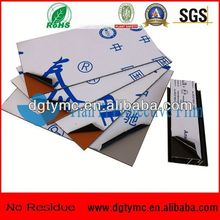 No residue easy peel pe clear plastic mattress protective film