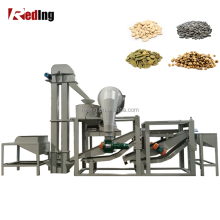 Automatic Sunflower Seeds Hulling Sheller Pumpkin Shelling Hemp Seed Dehulling Machine