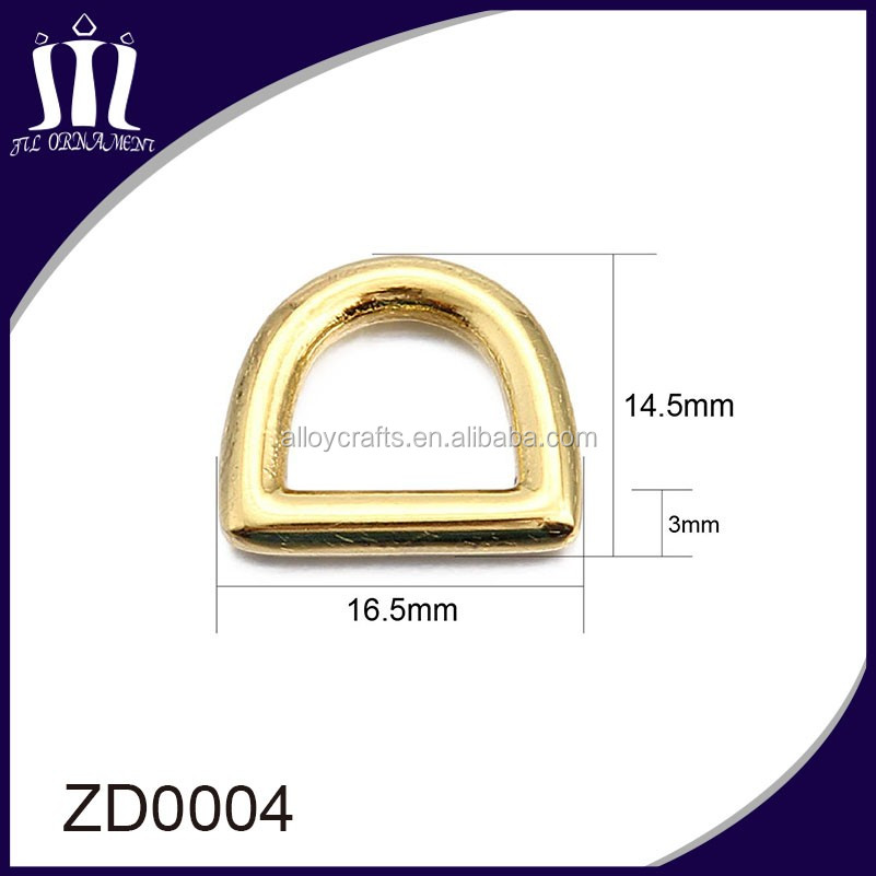 Cheap and high quality steel letter d ring