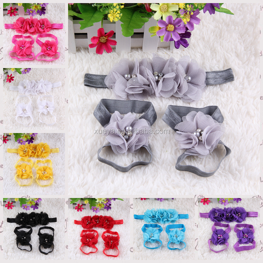 Wholesale fashion cute infant baby flower shoes