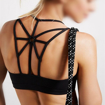 Wholesale Spandex and Cotton Gym Exercise Sports Bra With Padds
