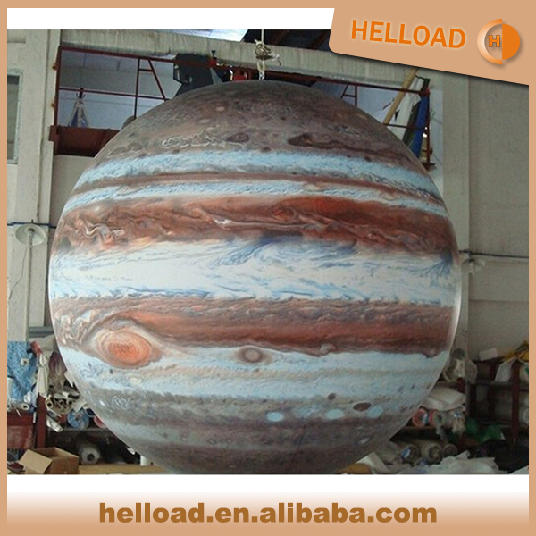 wholesale giant PVC inflatable solar planet balloon, inflatable Jupiter balloon for sale