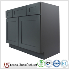 Alibaba Solid Wood Bathroom Vanity Cabinet Made In China