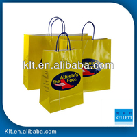 Custom printing twisted handle paper bag