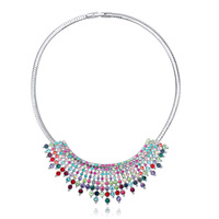 20695 Beautiful Statement Necklace Luxury Collar Jewelry For Wedding