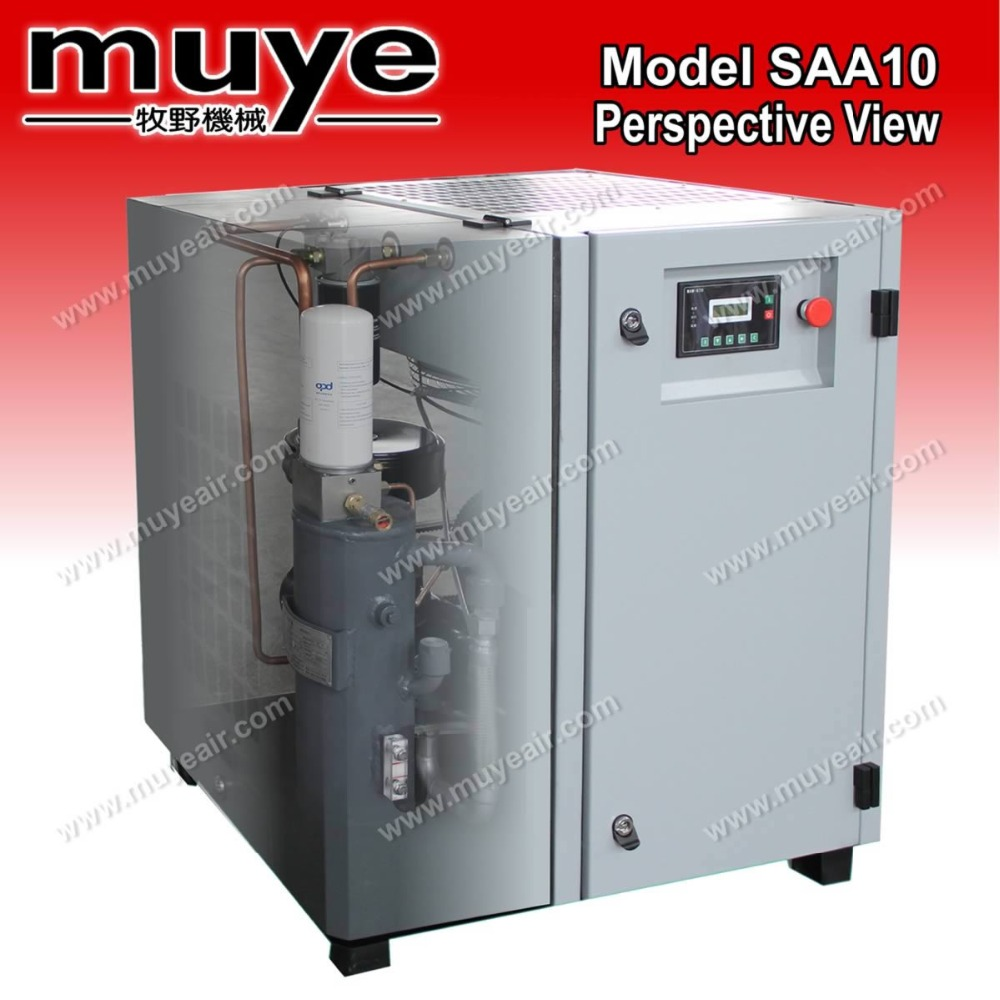 compressor air of screw model of SAA10C 2017.0113