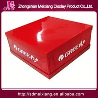 Plastic tray display stand, MX5745 Plastic countertop rotating jewelry display stand