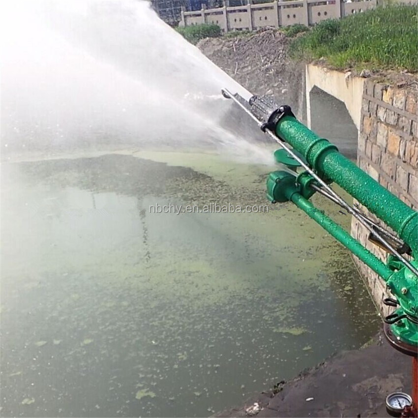 China suppliers 23 degree HY-70 worm big rain water sprinkler irrigation gun/ whatsapp: 0086-13626615457