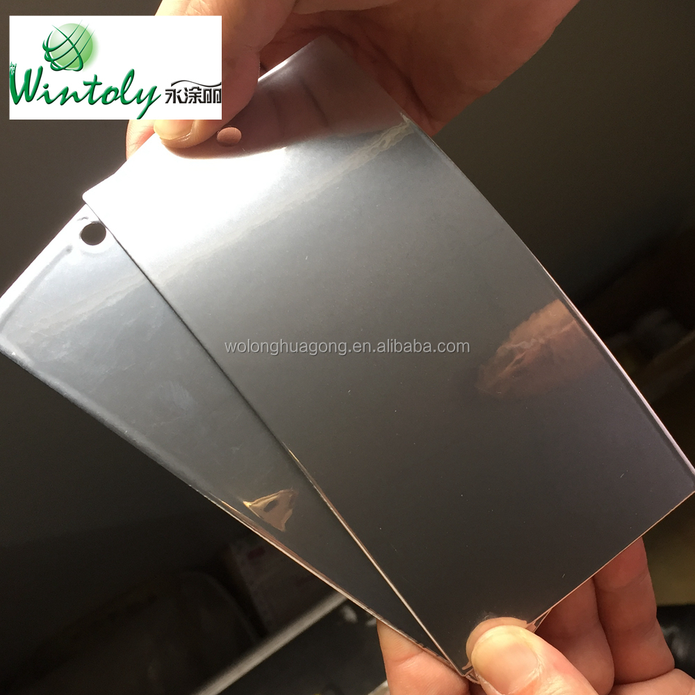 Special texture powder coating for iron metal sheet