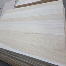 China wood factory supply paulownia board timber wood