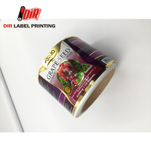 Adhesive printing Scratch Off waterproof custom paper vinyl pvc clear label sticker roll