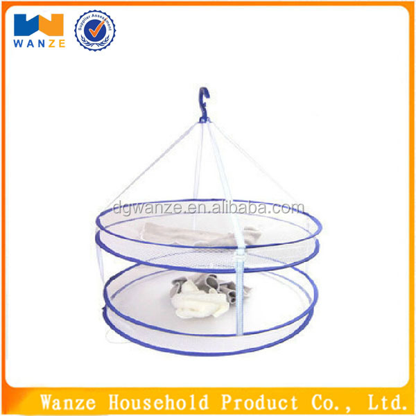 High quality folding clothes laundry drying net