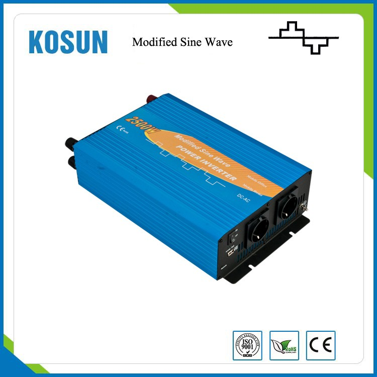 DC 24V to 110V 2500W Modified Sine Wave Solar Inverter