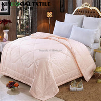 Hot sell cotton jacquard Shell Quilts 100% Natural Mulberry Silk Duvets