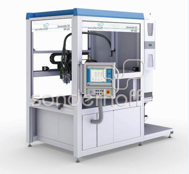 Silicone Foam Dosing and Mixing Machine / FIPFG
